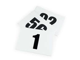 Competition Number Bib Numbers