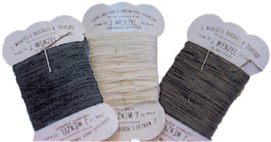 Plaiting Thread with Needle