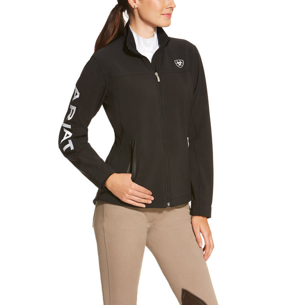 Ariat Ladies Team Softshell Jacket black