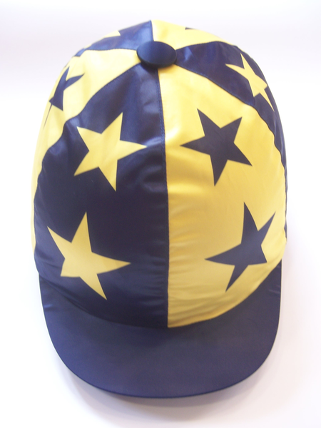 RS Satin Hat Cover - quartered with Stars