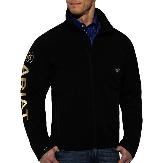Ariat Mens Team Softshell Jacket black