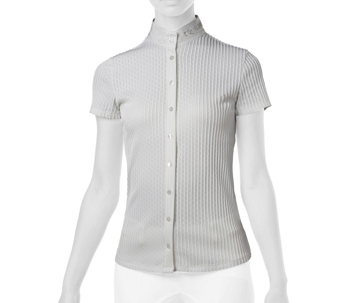 Equiline Ladies Competition Shirt Giordana white