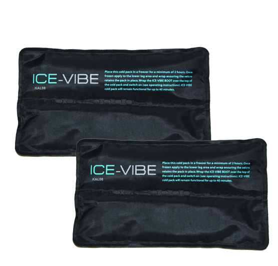 Spare Cold Packs for ICE-VIBE Hock Therapy Boots